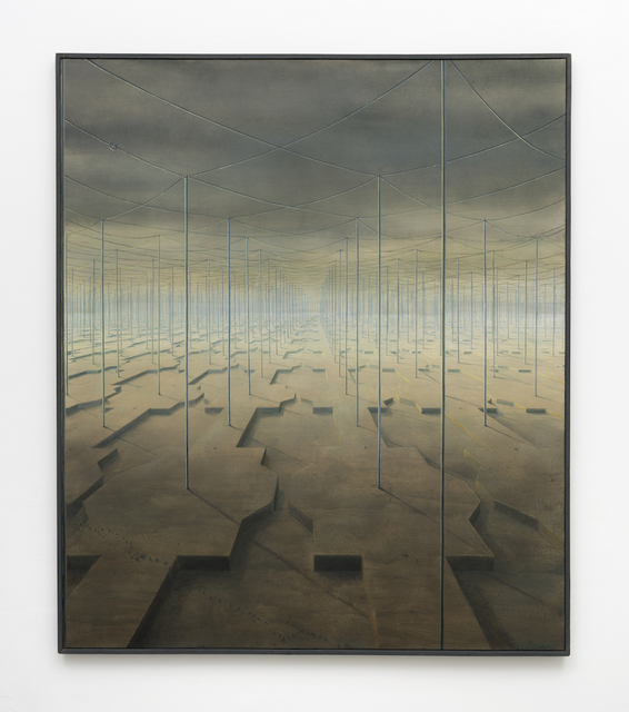 , 'Die Eisenbahnen haben einen Schnupfen,' 1983, PPC Philipp Pflug Contemporary