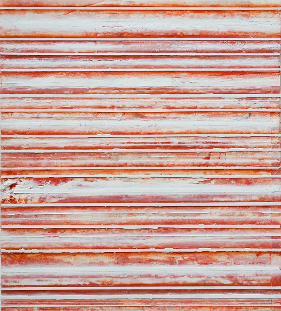 , 'Red & White Bands,' 2017, Reynolds Gallery