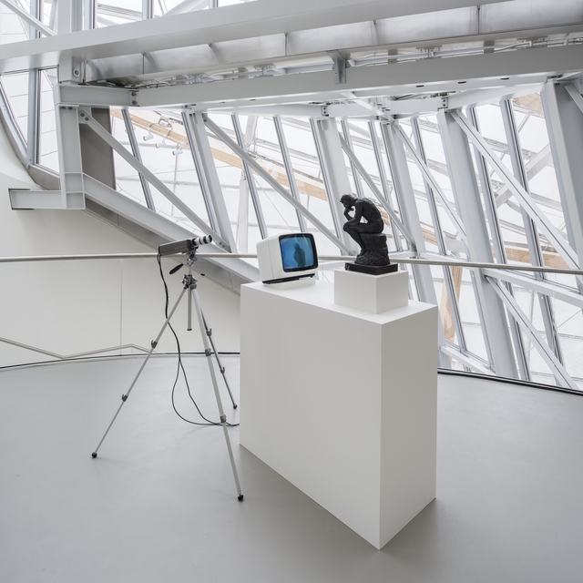 Nam June Paik, 'TV Rodin (Le Penseur)', 1976-1978, Fondation Louis Vuitton