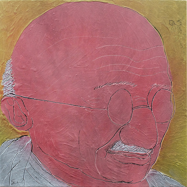 , 'Spirit of Gandhi,' 2015, Ode to Art