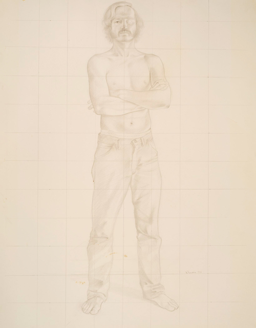 , 'Study for Self-Portrait,' 1974, Allan Stone Projects