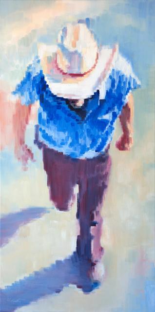 , 'Cowboy in the Santa Fe Plaza,' 2017, ViVO Contemporary