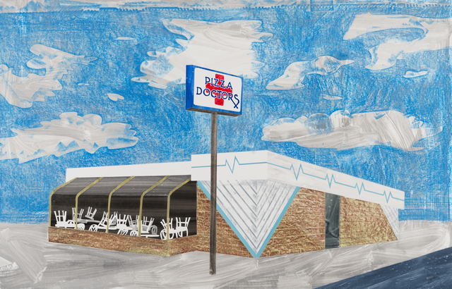 , 'Pizza Doctors, La Crosse,' 2017, Highpoint Editions