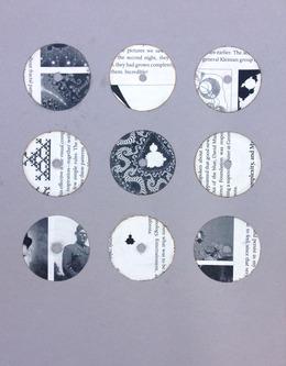 , 'Book Knob Extracts (Mandelbrot 1),' 2013, Federica Schiavo Gallery