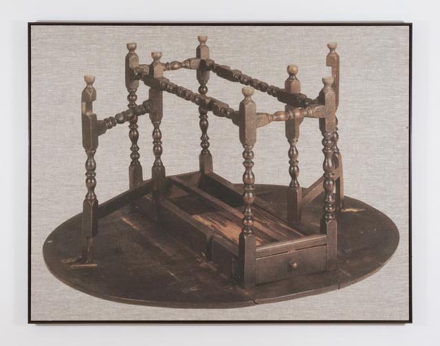 , 'Gateleg Table,' 2014, Haines Gallery