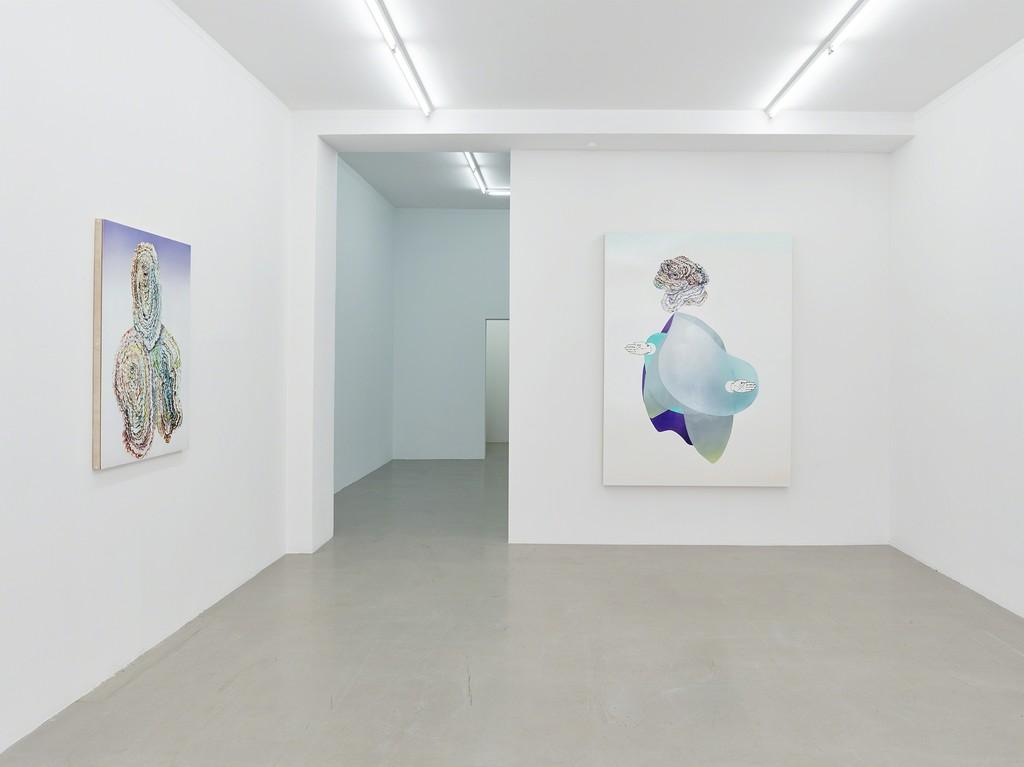 "installation view ""BODY UPGRADES"", Kadel Willborn, Düsseldorf, Germany, 2018."