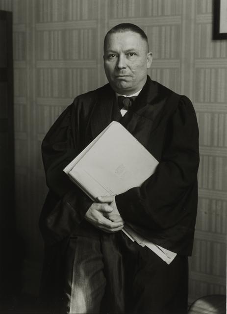 , 'Attorney, 1932,' , Galerie Julian Sander