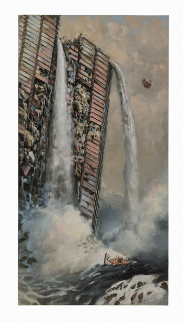 , 'Deposition II: Cascade,' 2015, Catharine Clark Gallery