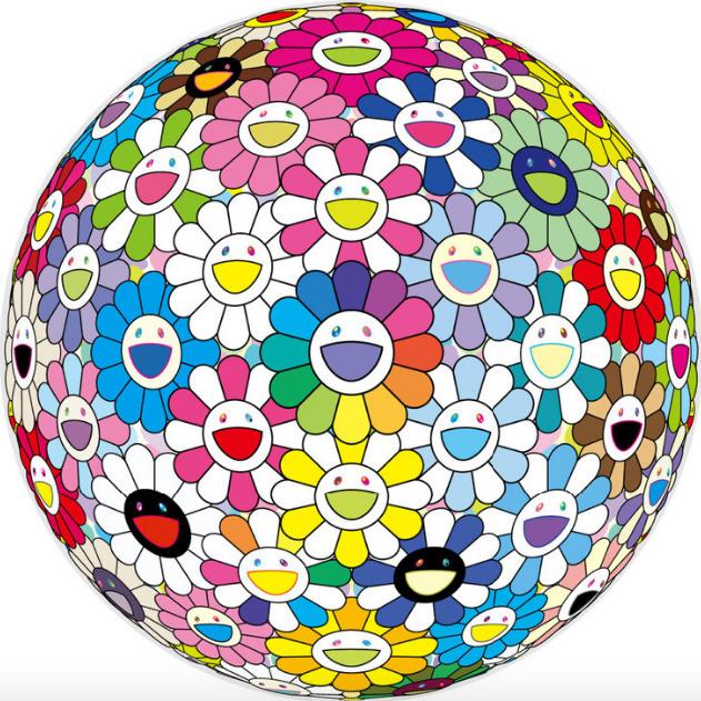 Takashi Murakami, 'Expanding Universe', 2018, Upsilon Gallery
