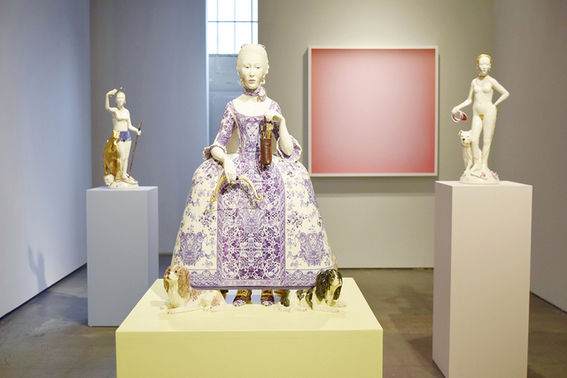 Claire Partington, 'Venus', 2019, Sculpture, Glazed ceramic and mixed media, Winston Wächter Fine Art