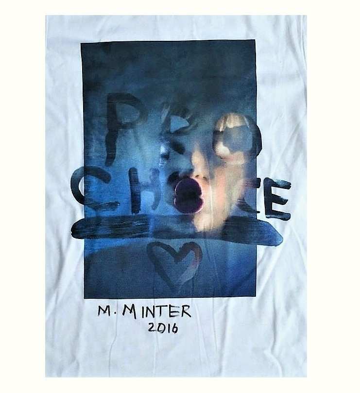 """""""Pro Choice Miley"""", Signed, Limited Edition, Marc Jacobs T-Shirt"""