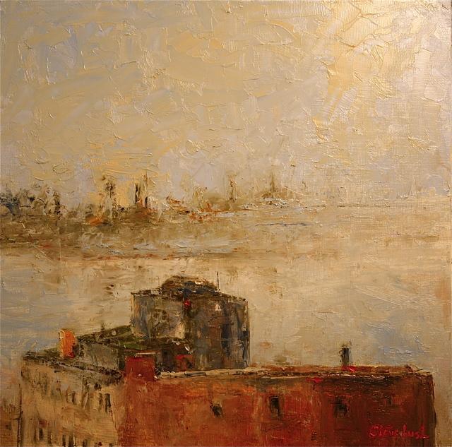 , 'Brooklyn Backwaters,' 2016, Bowersock Gallery