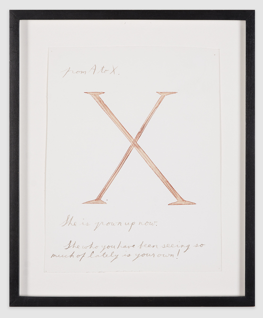 ", '""From A to X"",' 1991, Scott White Contemporary Art"