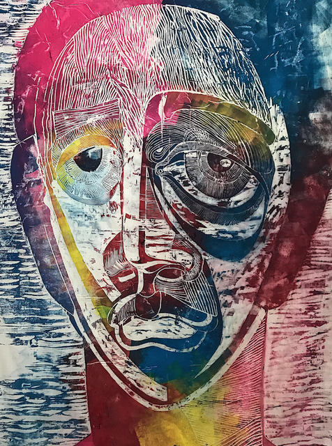 , 'color woman,' 2018, Horatio Carson