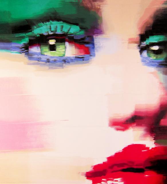 Gerry Chapelski, 'Untitled #3 ( Green Eyeshadow)', 2018, Parlor Gallery