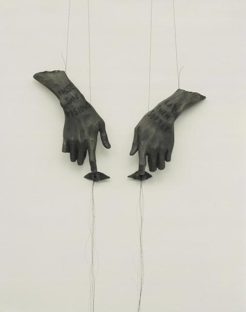 Lesley Dill, 'Dreamer', 1998, Nohra Haime Gallery