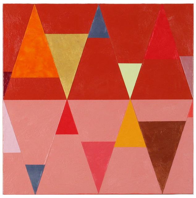 Joanne Mattera, 'Chromatic Geometry 20', 2019, Painting, Encaustic/Panel, Miller White Fine Arts
