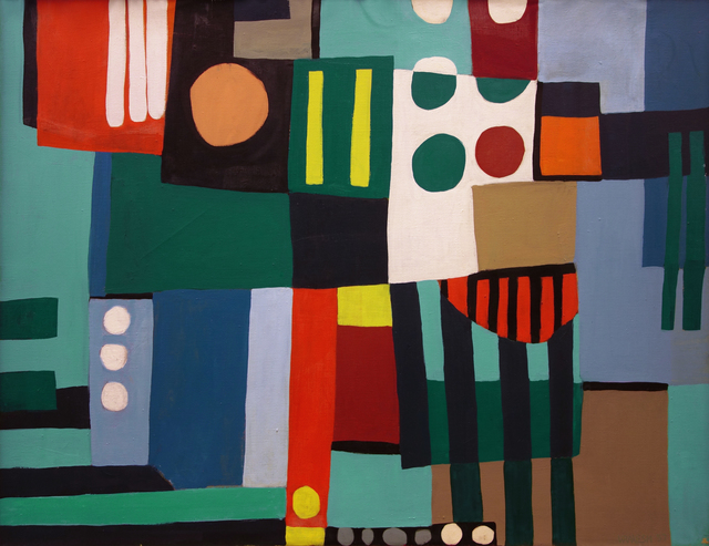 , 'Button Down Jazz,' 1957, Vallarino Fine Art