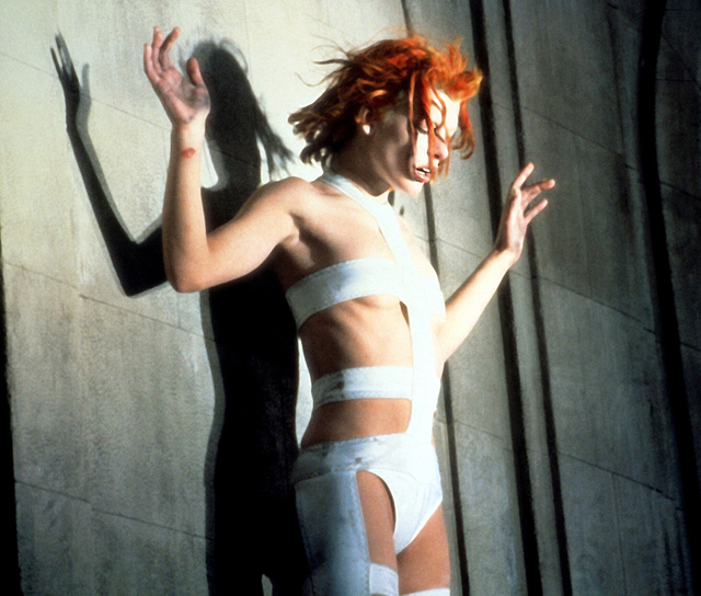 , 'Milla Jovovich as Leeloo in Luc Besson's 1997 film The Fifth Element,' 1997, Brooklyn Museum