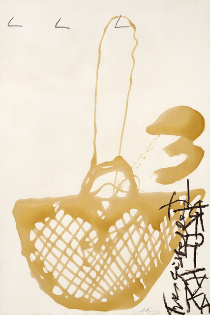 Antoni Tàpies, 'Cistella de vernis', 1997, Galerie Lelong & Co.