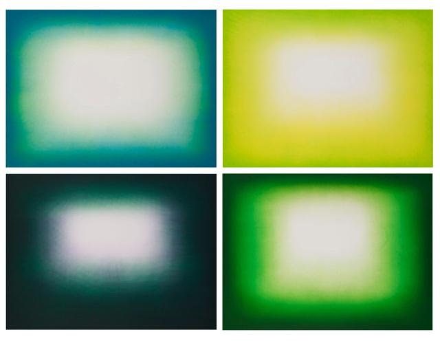 , 'Green Shadow,' 2011, Galería La Caja Negra