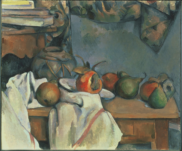 , 'Ginger Pot with Pomegranate and Pears,' 1893, Kimbell Art Museum