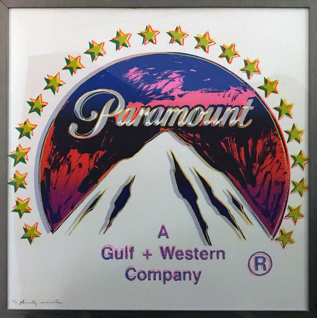 """, 'Paramount aus der Serie """"Ads"""",' 1985, Galerie Kronsbein"""