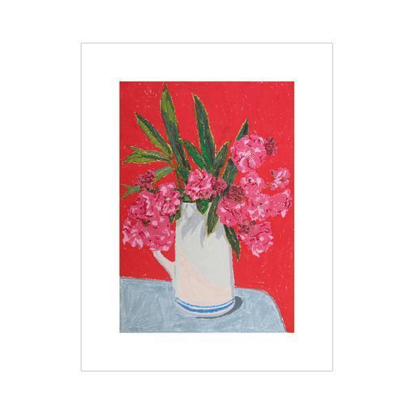 , 'Pink Flowers,' 2014, Johannes Vogt Gallery