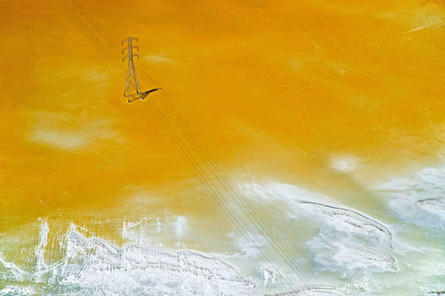 , 'Yellow Salt Pond,' , The McLoughlin Gallery