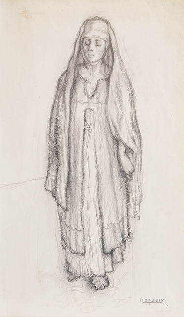 , 'Untitled (Study for Return of the Holy Women),' ca. 1904, Michael Rosenfeld Gallery