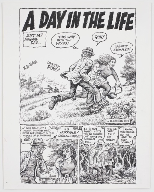 , 'Self-Loathing Comics #1: A Day in the Life,' 1994, David Zwirner