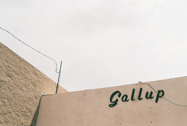 , 'Untitled (Gallup Sign),' 2014, Cob