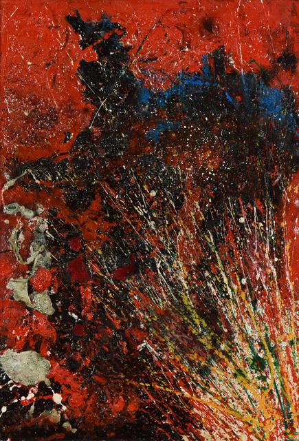 , 'Red Composition,' 1963, Stern Pissarro