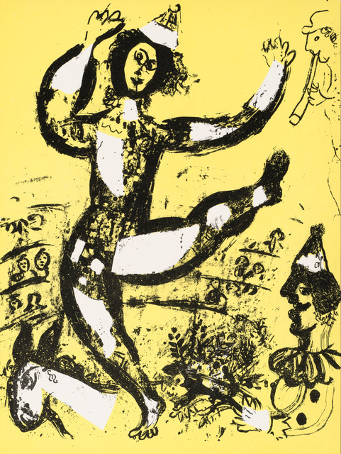 Marc Chagall, 'Le Cirque (The Circus)', 1960, Print, Original lithograph printed in colors on wove paper., Galerie d'Orsay
