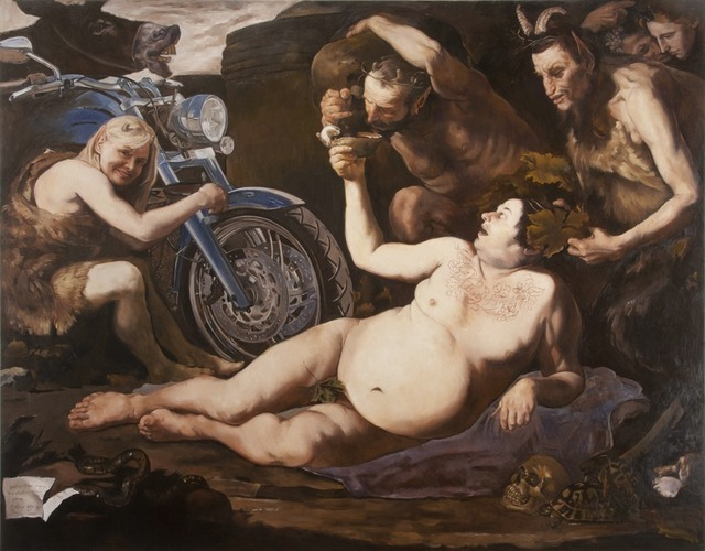 , 'The Birth of Tragedy after Giuseppe de Ribera's Drunken Silenus,' 2013, Francis M. Naumann Fine Art