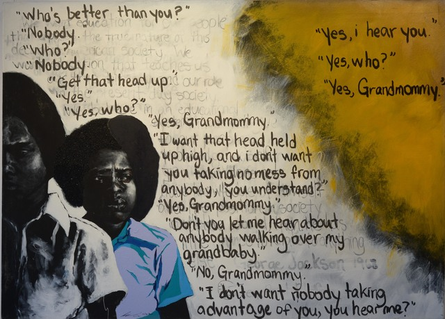 , 'Yes, Grandmommy,' 2011, Richard Beavers Gallery
