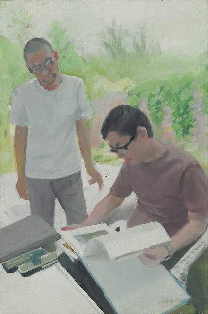 , 'Two Artists,' 2008, PIFO Gallery
