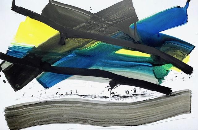 , 'Exil #244,' 2015, Catherine Ahnell Gallery