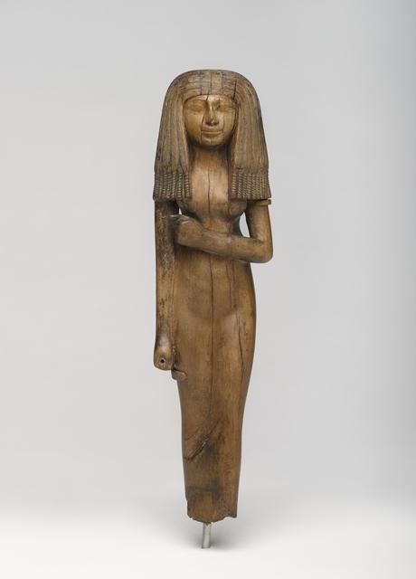 , 'Statuette of a Woman,' ca. 1390 BCE, Brooklyn Museum
