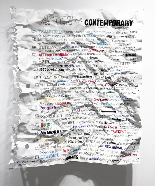 , 'After the Contemporary,' 2018, Gallery Poulsen