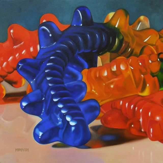 , 'Gummy Centipedes,' 2007, Woodward Gallery