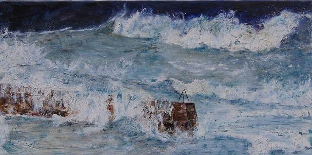 Penny Rumble, 'Low Pressure High Seas', 2016, White Court Art