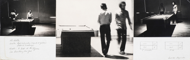, 'New York Pool Hustle,' 1972, Anglim Gilbert Gallery