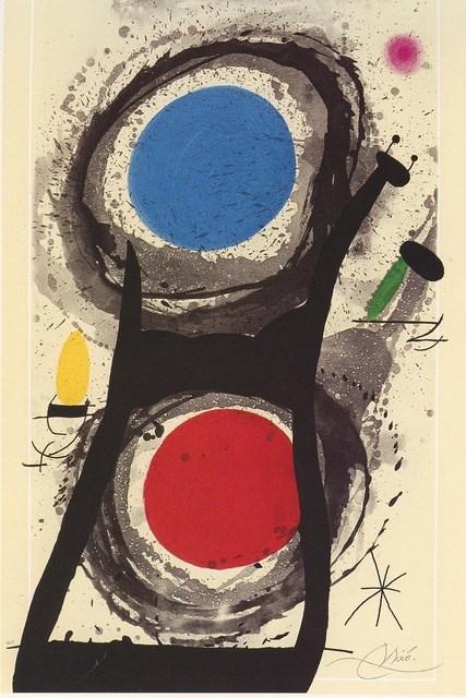 Joan Miró, 'The worshiper of the sun. 1969 Numbered and signed', 1969, Galería Marita Segovia