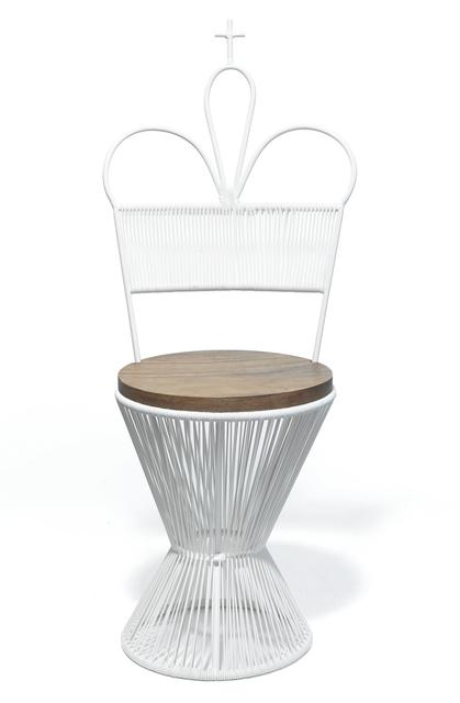 , 'King Chair - White,' 2016, kinder MODERN
