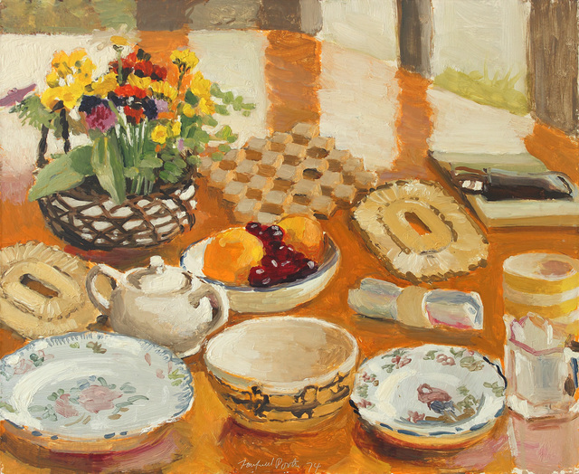, 'Field Flowers, Fruit and Dishes,' 1974, Alexandre Gallery