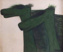 , 'The green horses,' 1987, Dongsoong Gallery