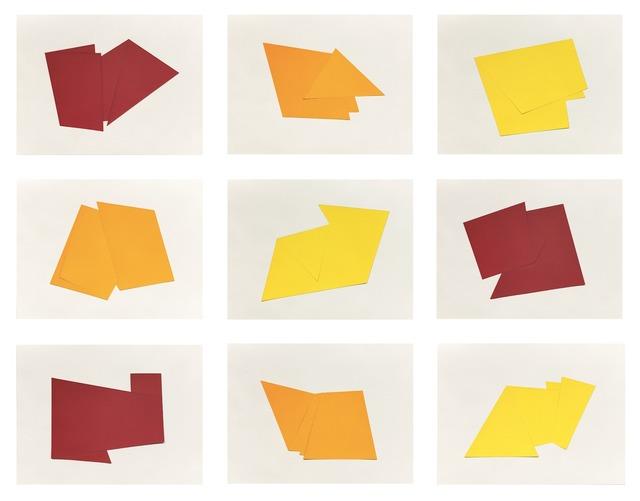 , 'Relevo Bidimensional,' 2015, Galeria Leme