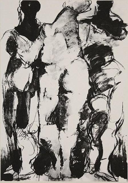Markus Lüpertz, 'ohne Titel Drei Grazien', 2000-2010, ARTEDIO