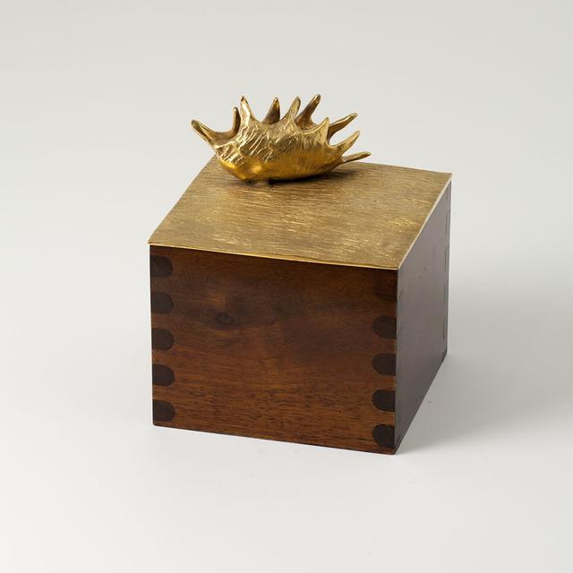 "Aldus, '""Dionaea,"" Decorative Wood and Bronze Box', 2013, Maison Gerard"